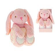Zajačik ružový - Plyšová hračka