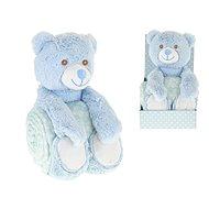Medvedík modrý - Plyšová hračka