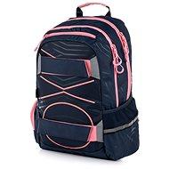 Batoh OXY Sport PASTEL LINE pink - Školský batoh