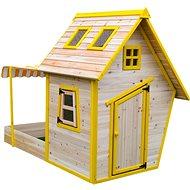 Domček detský drevený s pieskoviskom Flinky - Detský domček
