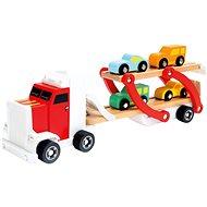Náves s autami - Didaktická hračka