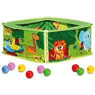 Bazénik s balónikmi, zelený - Bazén s loptičkami