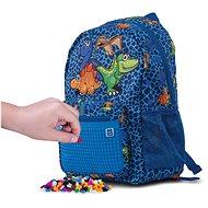 Pixie Crew detský batoh dino modrý - Detský ruksak