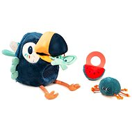Lilliputiens – multifunkčná plyšová hračka – tukan Pablo