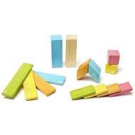 Magnetická stavebnica TEGU Tints – 14 dielov - Drevená stavebnica