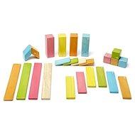 Magnetická stavebnica TEGU Tints – 24 dielov - Drevená stavebnica