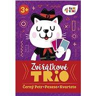 4bambini Zvieratkové trio - Kartová hra