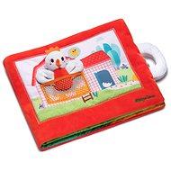 Lilliputiens – textilná knižka – sliepočka Pauletta hľadá kuriatka - Kniha pre deti