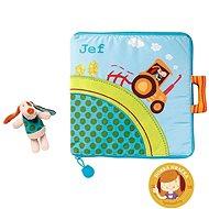 Lilliputiens – textilná knižka – Jef na farme - Kniha pre deti