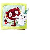 Lilliputiens – textilná knižka – Zajko zubár - Kniha pre deti