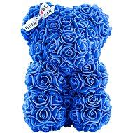 Rose Bear Modrý medvedík z ruží 25 cm - Medvedík z ruží
