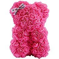 Rose Bear Ružový medvedík z ruží 25 cm - Medvedík z ruží