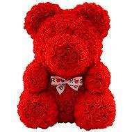 Rose Bear Červený medvedík z ruží 38 cm - Medvedík z ruží