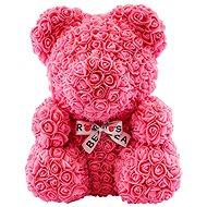 Rose Bear Ružový medvedík z ruží 38 cm - Medvedík z ruží