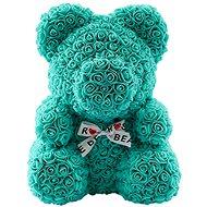 Rose Bear Tiffany medvedík z ruží 38 cm - Medvedík z ruží