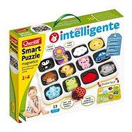 Smart Puzzle magnetico first colors and words – magnetická skladačka - Skladačka