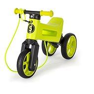 Neon Funny Wheels  2 v 1 zelené - Odrážadlo