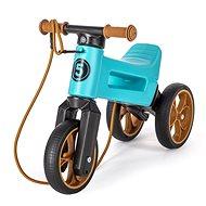 Funny Wheels Super Sport 2 v 1 tyrkysové - Odrážadlo