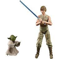 Star Wars zberateľská figúrka Luke a Yoda Dagobah - Figúrka