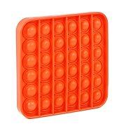 Pop it – štvorec oranžový - Spoločenská hra