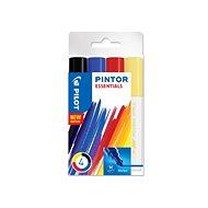 Akrylový popisovač Pilot Pintor, Medium, sada 4 ks, Essentials
