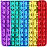 Mega Pop it štvorec dúhový - Spoločenská hra