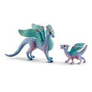 Schleich 70592 Kvetinový drak s mláďaťom - Figúrky
