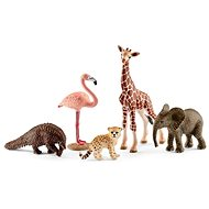 Schleich 42388 Divoké zvieratá sada 5 ks - Figúrka