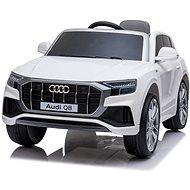Audi Q8, biele - Detské elektrické auto