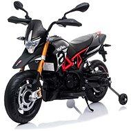 Aprilia Dorsoduro 900, čierne - Detská elektrická motorka