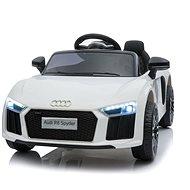 Audi R8 small, biele - Detské elektrické auto
