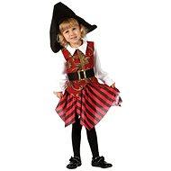 Šaty na karneval – Pirátka veľ. XS - Detský kostým