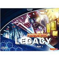 Pandemic Legacy – Rok 1 (Modrá krabica) - Spoločenská hra