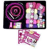 c1ae44883 Kruhová súprava na pletenie a farebné priadze - Kreatívna súprava