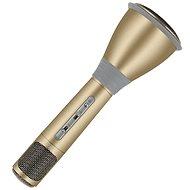Eljet Karaoke Mikrofón Advanced zlatý - Mikrofón
