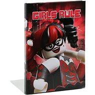 LEGO Batman Movie Zápisník Harley Quinn/Batgirl - Poznámkový blok