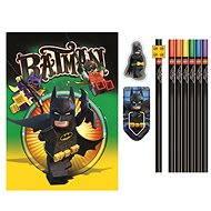 LEGO Batman Movie Papiernická súprava so zápisníkom - Súprava kancelárskych potrieb