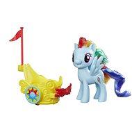 My Little Pony Poník s vozíkom Rainbow Dash - Herná súprava