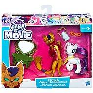 My Little Pony Súprava 2 poníkov s doplnkami Rarity a Capper Dapperpaws - Herná súprava