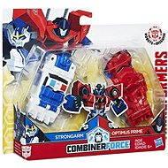 Transformers RID Kombinátor Op & Strongarm - Figúrka