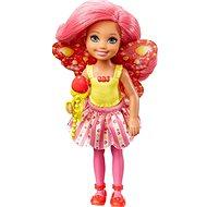 Mattel Barbie víla Chelsea tmavo ružová - Bábika