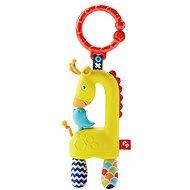Fisher-Price – Závesná žirafa - Hrkálka a hryzadlo