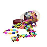 B-Toys Spájacie koráliky a tvary Pop Arty 275 ks - Koráliky