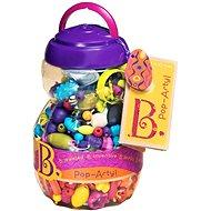 B-Toys Spájacie koráliky a tvary Pop Arty 500 ks - Kreatívna súprava
