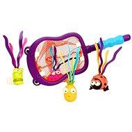 B-Toys Podberák s hračkami potápanie Hroch Hubba - Hračka do vody
