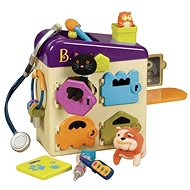 B-Toys Veterinársky kufrík Pet Vet Clinic - Herná sada