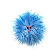 Fluffy Friends – modrá - Figúrka