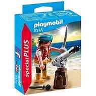 Playmobil 5378 Pirát s kanónom - Stavebnica