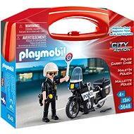 Playmobil 5648 Prenosný box - Policajt s motorkou - Stavebnica