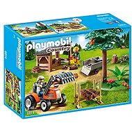 Playmobil 6814 Drevorubači s traktorom - Stavebnica